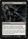 Magic the Gathering Shadowmoor Single Polluted Bonds - NEAR MINT (NM)