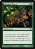 Magic the Gathering Shadowmoor Single Prismatic Omen Foil