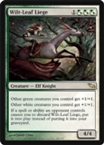 Magic the Gathering Shadowmoor Single Wilt-Leaf Liege UNPLAYED (NM/MT)