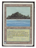 Magic the Gathering 3rd Ed (Revised) Single Tropical Island - HEAVY PLAY (HP)