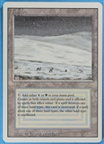 Magic the Gathering 3rd Ed (Revised) Single Tundra MODERATE PLAY (VG/EX)