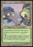 Magic the Gathering Urza's Legacy Single Treetop Village - NEAR MINT (NM)