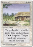 Magic the Gathering Unlimited Single Farmstead UNPLAYED (NM/MT)