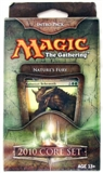 Magic the Gathering 2010 Core Set Intro Pack Nature's Fury