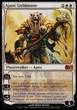 Magic the Gathering Magic 2011 Single Ajani Goldmane - SLIGHT PLAY (SP)