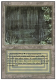 Magic the Gathering 3rd Ed (Revised) Single Bayou - MODERATE PLAY (MP)