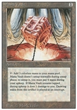 Magic the Gathering Revised Edition Single Mana Vault - MODERATE PLAY (MP)