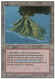 Magic the Gathering 3rd Edition Single Volcanic Island - SLIGHT / MODERATE PLAY (SP/MP)