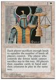 Magic the Gathering ALTERNATE 4th Ed. Single Black Vise- SLIGHT PLAY (SP)