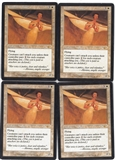Magic the Gathering Legions PLAYSET Windborn Muse X4 - SLIGHT PLAY (SP)
