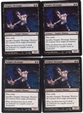 Magic the Gathering Zendikar PLAYSET Vampire Hexmage X4 - NEAR MINT (NM)