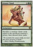 Magic the Gathering 9th Edition Single Greater Good - SLIGHT PLAY (SP)