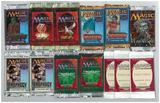 Magic the Gathering Mixed Booster Pack LOT Mercadian Masques Invasion Weatherlight 5th Ed