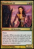 Magic the Gathering Alara Reborn Single Bloodbraid Elf - SLIGHT PLAY (SP)
