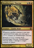 Magic the Gathering Alara Reborn Single Deathbringer Thoctar FOIL - NEAR MINT (NM)