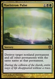 Magic the Gathering Alara Reborn Single Maelstrom Pulse FOIL - SLIGHT PLAY (SP)
