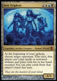 Magic the Gathering Alara Reborn Single Sen Triplets - SLIGHT PLAY (SP)