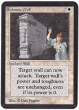 Magic the Gathering Alpha Single Animate Wall - SLIGHT PLAY (SP)