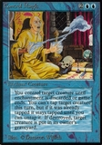 Magic the Gathering Alpha Single Control Magic - MODERATE PLAY (MP)