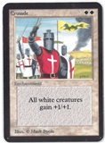 Magic the Gathering Alpha Single Crusade - MODERATE PLAY (MP)