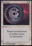 Magic the Gathering Alpha Single Disenchant - MODERATE PLAY (MP)