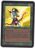 Magic the Gathering Alpha Single Elvish Archers - SLIGHT PLAY (SP)