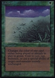 Magic the Gathering Alpha Single Lifelace - MODERATE PLAY (MP)