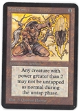Magic the Gathering Alpha Single Meekstone - MODERATE PLAY (MP)