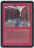 Magic the Gathering Alpha Single Raging River - MODERATE PLAY (MP)