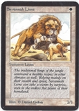 Magic the Gathering Alpha Single Savannah Lions - SLIGHT PLAY (SP)
