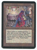 Magic the Gathering Alpha Single Time Vault - MODERATE PLAY (MP)