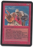 Magic the Gathering Alpha Single Two-Headed Giant of Foriys - SLIGHT PLAY (SP)