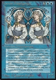 Magic the Gathering Alpha Single Vesuvan Doppelganger - HEAVY PLAY (HP)