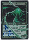 Magic the Gathering Worldwake Single Omnath, Locus of Mana FOIL (Artist Signed and Altered) - NEAR MINT (NM)