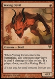 Magic the Gathering Avacyn Restored Single Vexing Devil FOIL - NEAR MINT (NM)