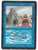 Magic the Gathering Beta Single Ancestral Recall - HEAVY PLAY (HP)