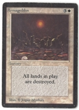 Magic the Gathering Beta Single Armageddon - HEAVY PLAY (HP)