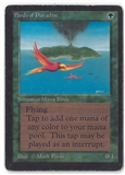 Magic the Gathering Beta Single Birds of Paradise - HEAVY PLAY (HP)