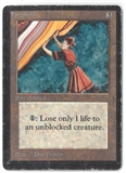 Magic the Gathering Beta Single Forcefield - HEAVY PLAY (HP)