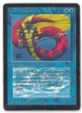 Magic the Gathering Beta Single Lord of Atlantis - HEAVY PLAY (HP)
