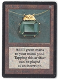 Magic the Gathering Beta Single Mox Emerald - SLIGHT / MODERATE PLAY