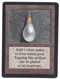Magic the Gathering Beta Mox Pearl - SLIGHT / MODERATE PLAY