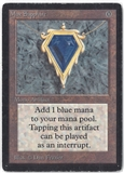 Magic the Gathering Beta Single Mox Sapphire - MODERATE PLAY (MP)