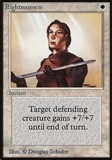 Magic the Gathering Beta Single Righteousness - MODERATE PLAY (MP)