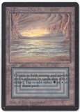 Magic the Gathering Beta Single Underground Sea - NEAR MINT / SLIGHT PLAY (NM/SP)