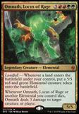 Magic the Gathering Battle for Zendikar Single Omnath, Locus of Rage - SLIGHT PLAY (SP)
