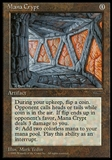Magic the Gathering Promo Single Mana Crypt - MODERATE PLAY (MP)