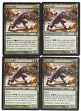 Magic the Gathering Theros PLAYSET Boon Satyr X4 - NEAR MINT (NM)