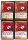 Magic the Gathering Gatecrash PLAYSET Boros charm X4 - NEAR MINT (NM)