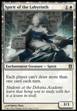 Magic the Gathering Born of the Gods Single Spirit of the Labyrinth - SLIGHT PLAY (SP)